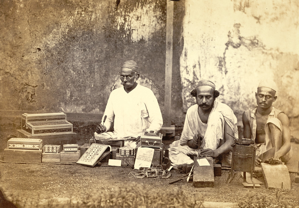 Work-box makers, Bombay